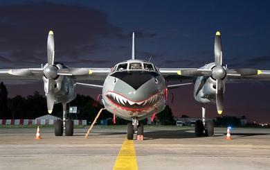 """Việt Nam có nên sơn """"Hàm cá mập"""" cho An-26 như chiếc máy bay này?"""