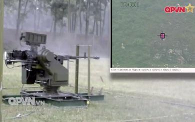 Việt Nam chế tạo thành công súng phòng không 12,7 mm điều khiển từ xa