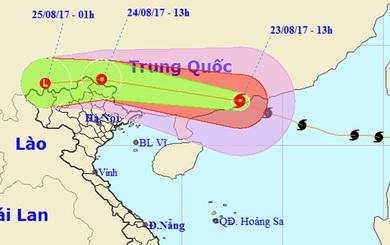 Thông tin mới nhất về cơn bão số 6