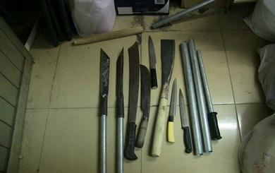 Công an nổ súng trấn áp 2 nhóm giang hồ huyết chiến giữa Sài Gòn