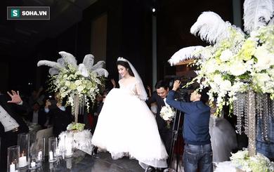 Cận cảnh đám cưới xa hoa, tráng lệ của Hoa hậu Thu Ngân và chồng đại gia