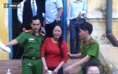 Hoa hậu Quý bà gây náo loạn sân tòa sau khi bị tuyên án tù