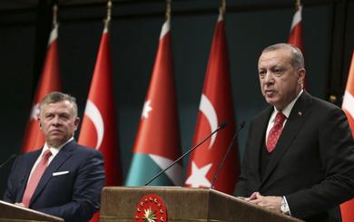 """Vụ Jerusalem: Nói Mỹ lọt bẫy khủng bố, Thổ Nhĩ Kỳ cùng Jordan """"phất cờ"""" đối đầu ông Trump"""