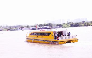 Cận cảnh hiện đại bên trong tàu buýt sông đầu tiên ở TP HCM
