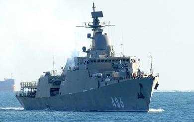 Hình ảnh mới về tàu Gepard của Việt Nam tại Nga