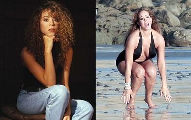 Trước khi trở thành thảm họa cân nặng, Mariah Carey là mỹ nhân tuyệt sắc thế này