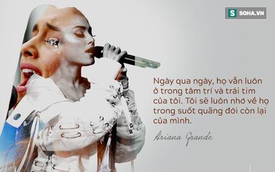 Rơi nước mắt với bức tâm thư Ariana Grande gửi fan hâm mộ sau vụ nổ bom tại Manchester
