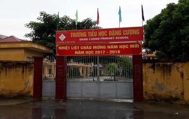 Chủ tịch huyện An Dương thông tin về hiệu trưởng bị tố lạm thu xin ra khỏi ngành
