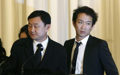 Con trai độc nhất của cựu thủ tướng Thaksin Shinawatra chính thức bị khởi tố tội rửa tiền