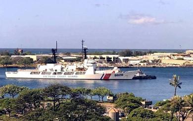 NÓNG: Tàu CSB-8020 Mỹ viện trợ cho VN vượt Thái Bình Dương về nước - Nối vòng tay lớn