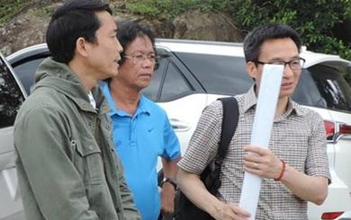 Ảnh: Phó Thủ tướng Vũ Đức Đam dân dã, giản dị khoác ba lô thị sát Sơn Trà