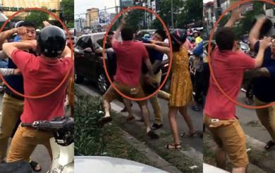 Sau va chạm giao thông, người nước ngoài bị tấn công, hành hung dã man