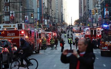 Khủng bố ở trung tâm New York: Nghi phạm bị bắt giữ, hàng trăm người thoát chết trong gang tấc