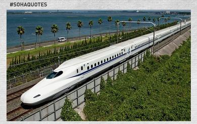 Gợi ý làm giàu cho người Nhật: Hãy mở quán cà phê giữa đường ray Shinkansen