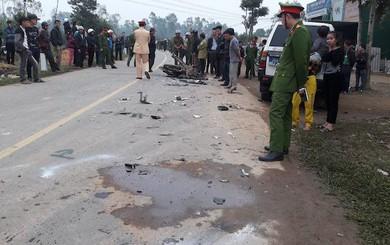 Vụ xe biển xanh tông chết 3 thanh niên: Xe chở lãnh đạo huyện đi kiểm tra nông thôn mới