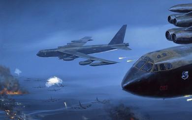 """B-52 Mỹ sập bẫy: """"60 phút kinh hoàng"""" - Số tên lửa VN nghênh chiến tăng vọt sau 1 đêm"""