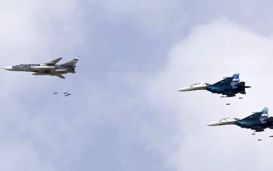 Đã tuyên bố rút quân, Nga vẫn ồ ạt không kích khủng bố tại Syria: Chuyện gì đang diễn ra?