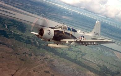 Mỹ sẽ hồi sinh cường kích Skyraider từng tham chiến ở Việt Nam?