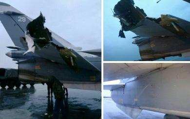 Xuất hiện hình ảnh nghi là thiệt hại của máy bay Nga tại căn cứ Khmeimim
