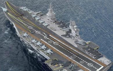 Lý do gì khiến Nga định bán thiết kế tàu sân bay Shtorm mới và tuyệt mật cho Trung Quốc?