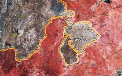 """NÓNG: QĐ Syria chiếm sân bay Abu Duhour, đóng """"nồi hầm"""" - Nhốt chặt phiến quân trong rọ"""