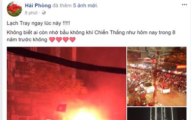 """Cổ động viên Việt Nam ăn mừng """"dữ dội"""" như thế nào trên Facebook?"""