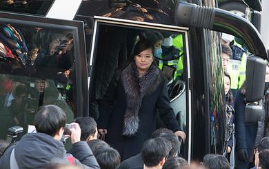 Đoàn tiền trạm Triều Tiên đã tới Hàn Quốc, người đẹp quyền lực dẫn đầu đoàn
