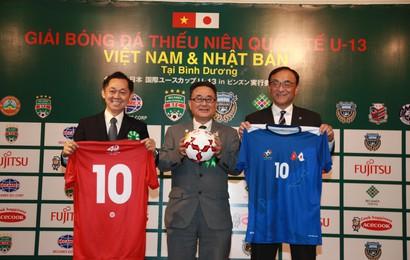 Việt Nam nghênh đón Nhật Bản ở sân chơi U13