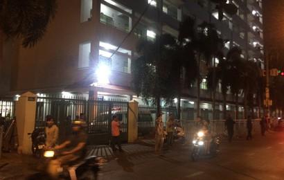 Người phụ nữ nghi tự tử ở trường ĐH Công nghiệp TP.HCM