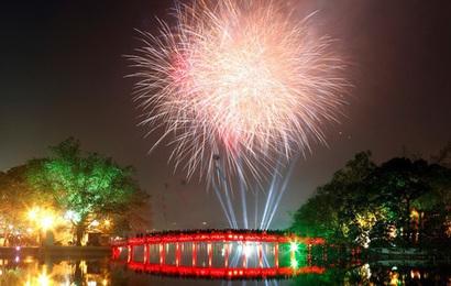 Những địa điểm bắn pháo hoa Giao thừa Tết Canh Tý 2020 tại Hà Nội