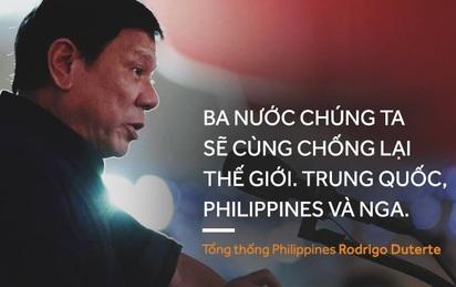 """Duterte đòi nhập hội """"chiến tuyến Nga-Trung"""": Tưởng Mỹ lo, hóa ra TQ """"ngồi trên đống lửa"""""""