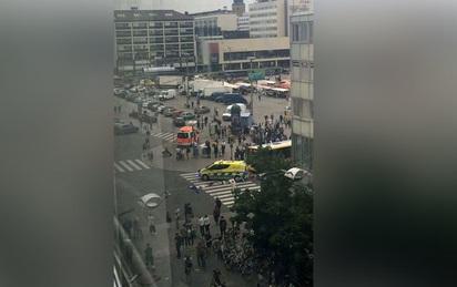 Phần Lan: Cảnh sát bắn, bắt giữ đối tượng đâm dao vào hàng loạt người đi đường