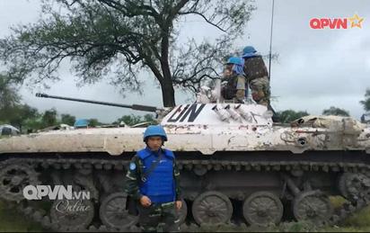 Ấn tượng quân sự Việt Nam tuần qua: Lính gìn giữ hòa bình Việt Nam tại phái bộ LHQ