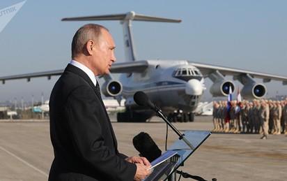 """Rút quân khỏi Syria: TT Putin tuyên bố chiến thắng và """"đuổi khéo"""" người Mỹ"""