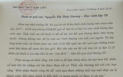 TIN TỐT LÀNH 23/4: Tâm thư của thầy hiệu trưởng tâm lý nhất Vịnh Bắc Bộ