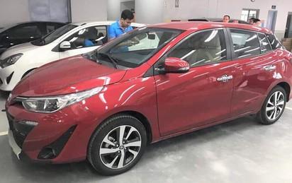 Cận cảnh Toyota Yaris 2018 về đại lý, mức giá chào bán bất ngờ
