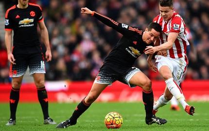 Box TV: Xem TRỰC TIẾP Stoke vs Man United (22h00)