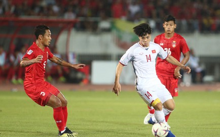 Myanmar 0-0 Việt Nam: Lưới Myanmar rung lên nhưng trọng tài thổi còi việt vị