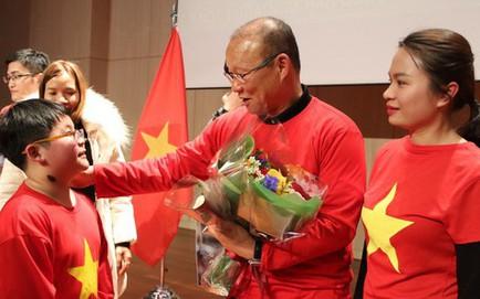 HLV Park Hang Seo, các tuyển thủ U23 gửi lời chúc năm mới đến người hâm mộ Việt Nam