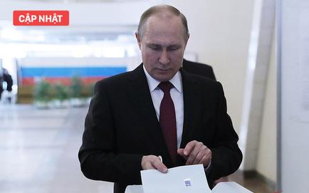 Bầu cử tổng thống Nga 2018: Ông Putin đi bỏ phiếu tại cùng địa điểm tổng tuyển cử 2012