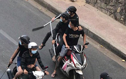 """Vụ 30 thanh niên cầm mã tấu truy sát ở Sài Gòn: Tạm giữ 5 giang hồ có """"số má"""" quê Hải Phòng"""