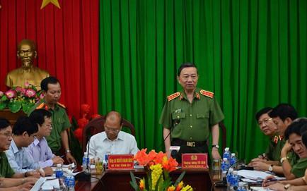Bộ trưởng Công an: Xử lý nghiêm đối tượng chủ mưu, cầm đầu trong vụ gây rối ở Bình Thuận