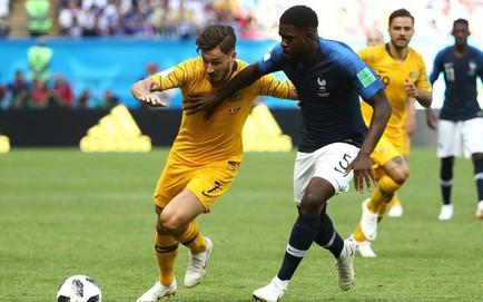 Pháp 2-1 Australia: Pogba dứt điểm điệu nghệ tung lưới Australia