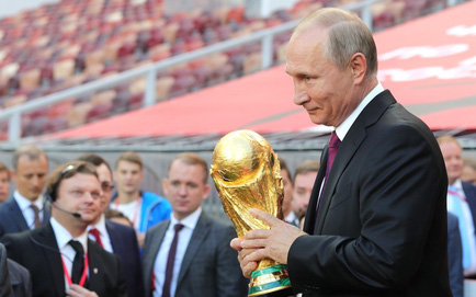 Ông Putin vẫn 'thắng đậm' về ngoại giao, dù World Cup 2018 vắng bóng lãnh đạo phương Tây