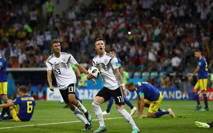 Đức 2-1 Thụy Điển: Toni Kroos giúp Đức ngược dòng ở những giây cuối
