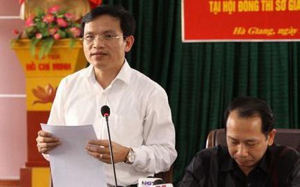 Họp báo vụ can thiệp điểm: Phó phòng Khảo thí Sở GD&ĐT Hà Giang sửa điểm cho 114 thí sinh