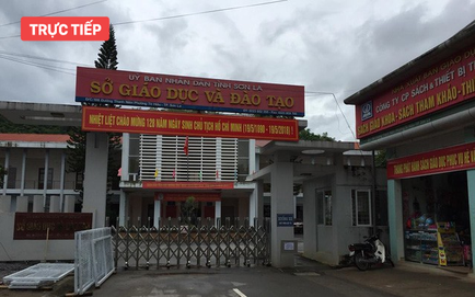 [CẬP NHẬT] Dừng họp báo thông tin nghi vấn can thiệp điểm thi ở Sơn La vì chưa có giấy phép