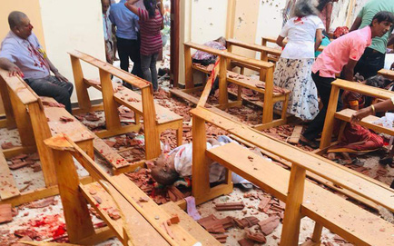 Lễ Phục Sinh đẫm máu ở Sri Lanka: Đánh bom liên hoàn, hơn 180 người thiệt mạng