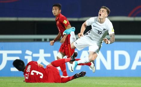 U20 Việt Nam thêm khó khi Pháp không mắc phải sai lầm giống New Zealand