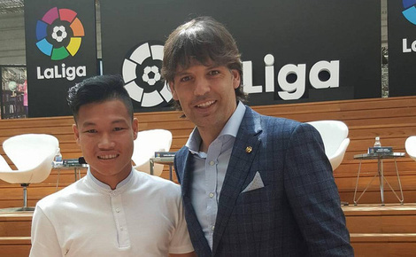 Morientes mời Đông Triều khai trương La Liga Singapore